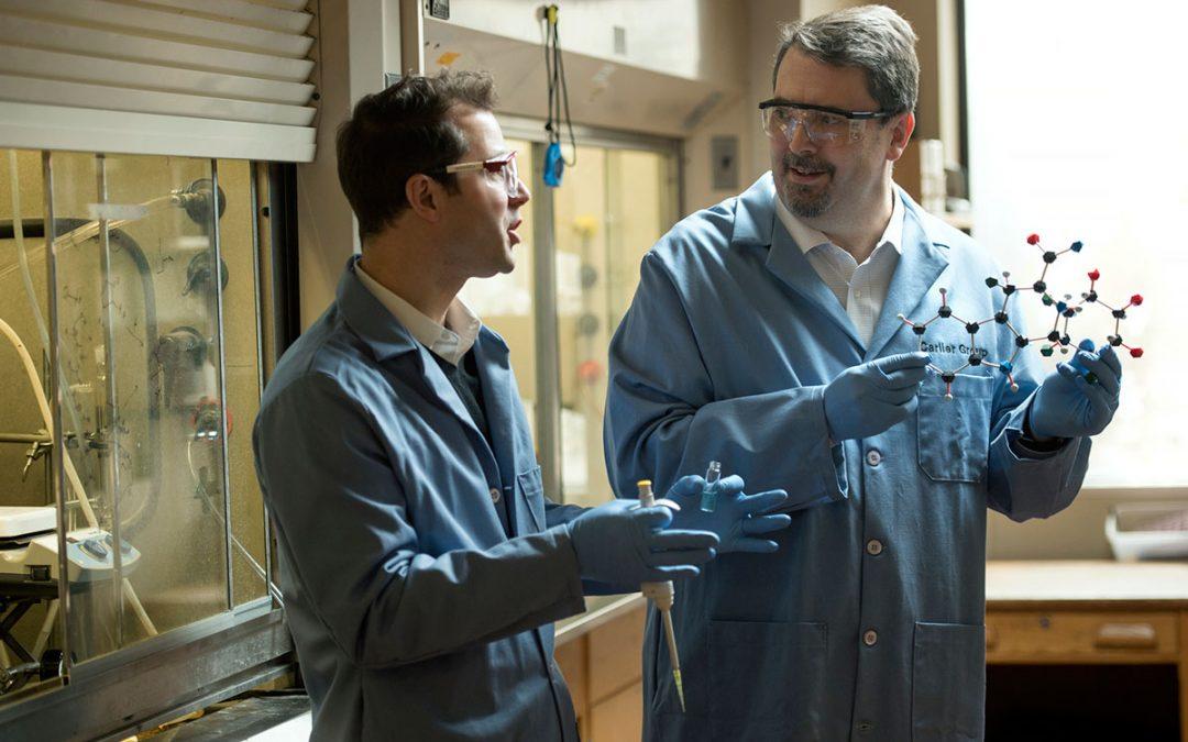 Carlier & Slade receive grant to develop new malaria therapeutics