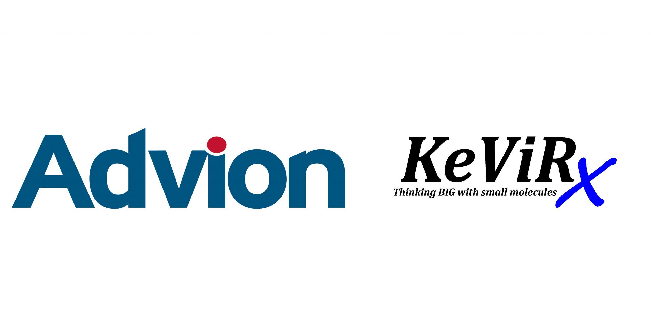 Advion and KeViRx logos